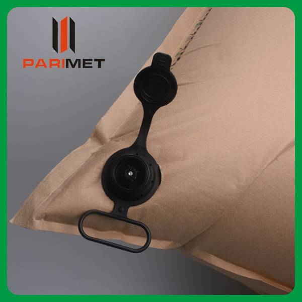 brown kraft paper inflatable dunnage air bag for transport