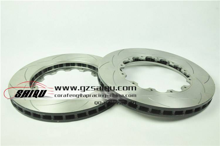 DICKASS Auto Brake Disc 362*32mm Curved Grooves Surface