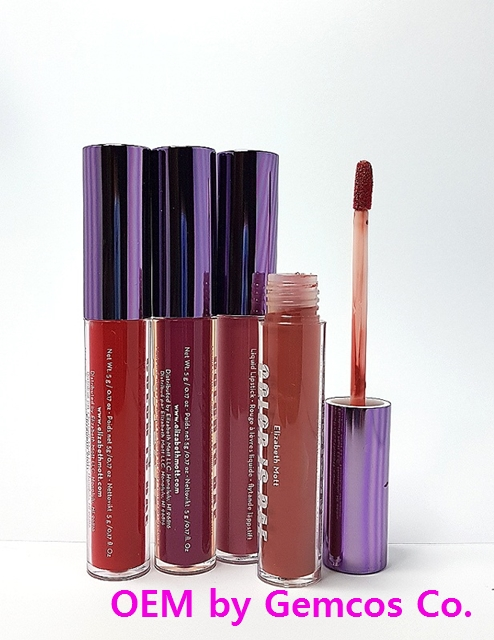 Gemcos Liquid lipstick (LP-101) (Excellent Quality Korean products)