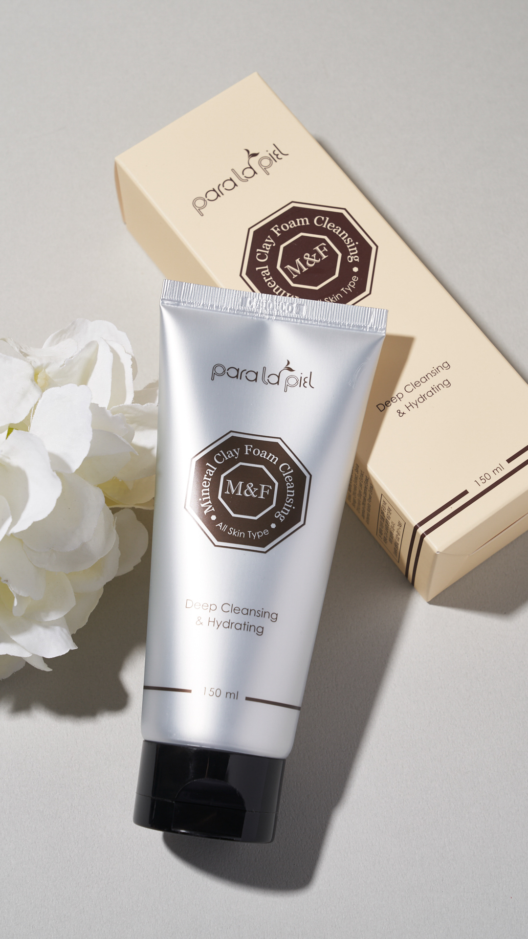 Paralapiel M&F Mineral clay foam cleansing