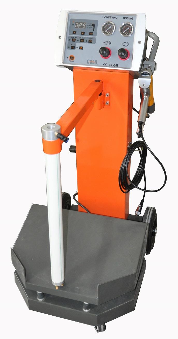 Vibrating Box Feed Electrostatic Powder Spraying Machine