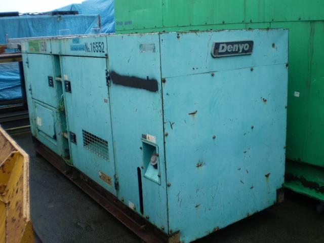 Used Denyo DCA150SP (150 Kva) Diesel Generator