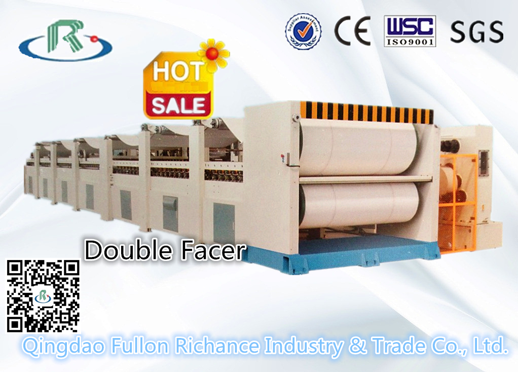 Corrugated Cardboard Carton Making Machine: Double Facer