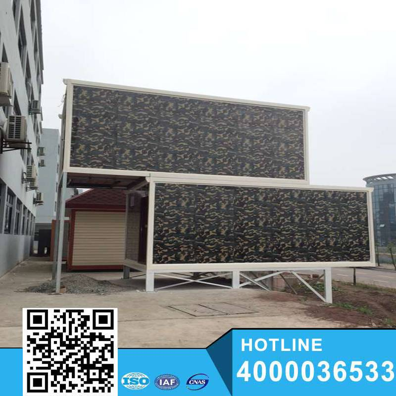 2015 YUKE Best low cost prefab homes/container house price