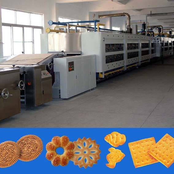 biscuit processing line