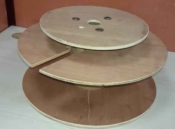 Three-Flange plywood Spools
