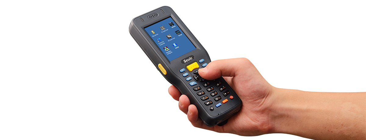 Industrial Handheld PDA Computer with Barcode Scanner