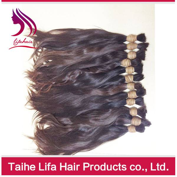virgin hair bulk Chinese virgin hair