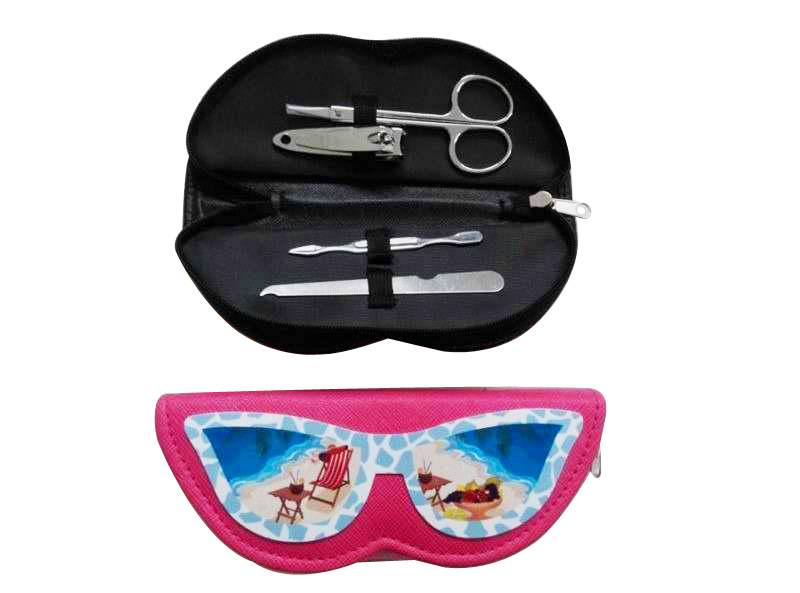 Glasses Shape Manicure Set ( SFM - 6006)