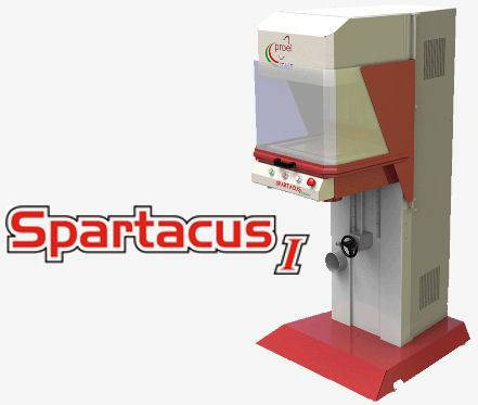 Spartacus - Galvanometric CO2 Laser for Laser Cutting, Laser Engraving and Laser Marking
