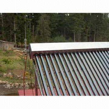 Solar thermal collector for the house