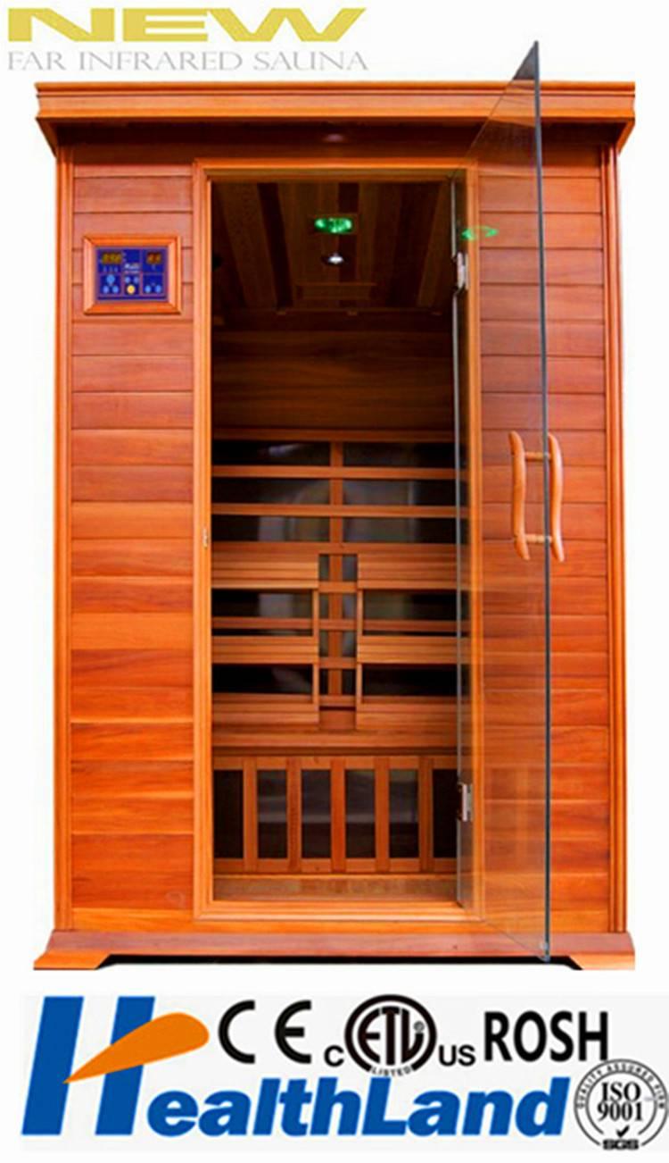 Good wood material Healthland brand far infrared sauna equipment