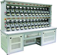 Two Current Single Phase Electric Energy Meter Test Bench , 24 - 60 Meter Position