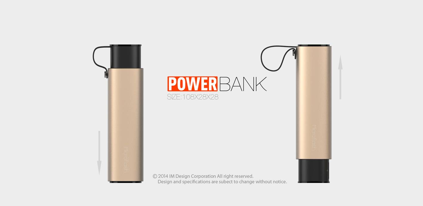 High quality portable mobile phone charger with LED indicator