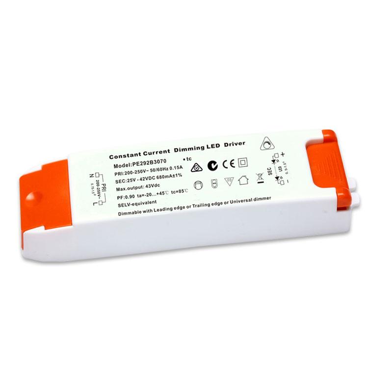 18-30W Triac dimmable power supply