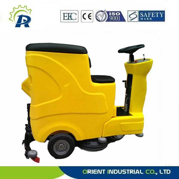 ride-on road scrubber