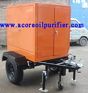 6000L/H Mobile Transformer Oil Filtration Machine