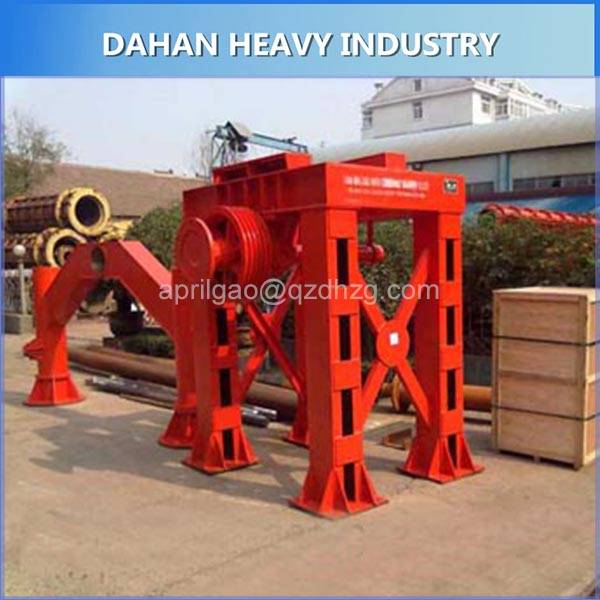 Construction materials machinerySuspension Roller Precast Concrete Culvert Drainage Pipe Making Mach