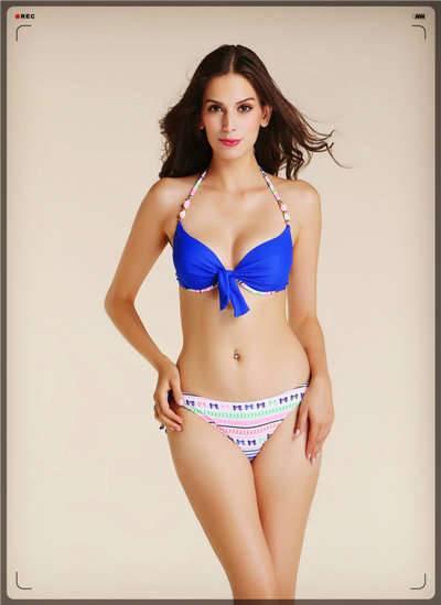 Young girl's fashion bikini,top quality bikini,bright cololr top bikini sw
