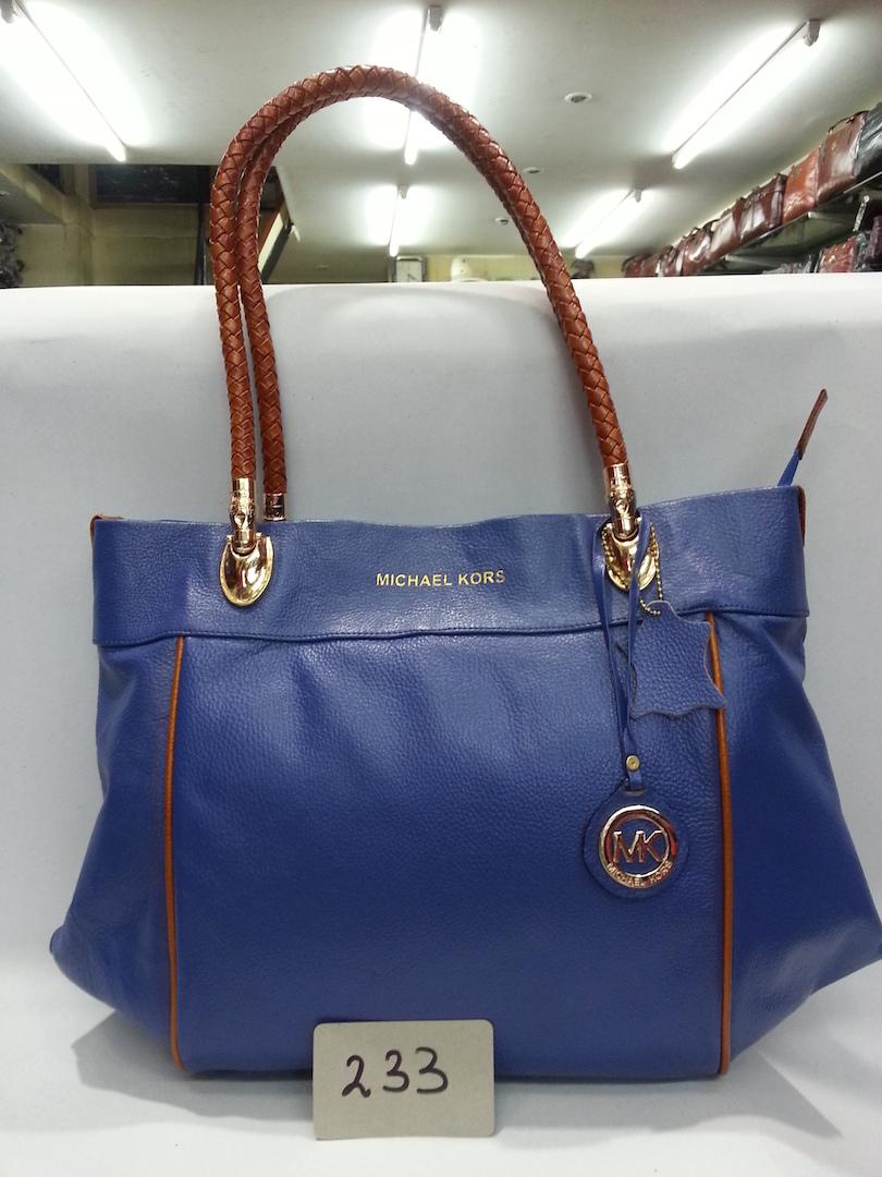 Ladies Bag Blue & Red color