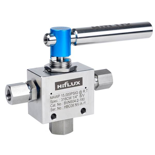 HIFLUX - High Pressure 3-Way Trunnion Ball Valve