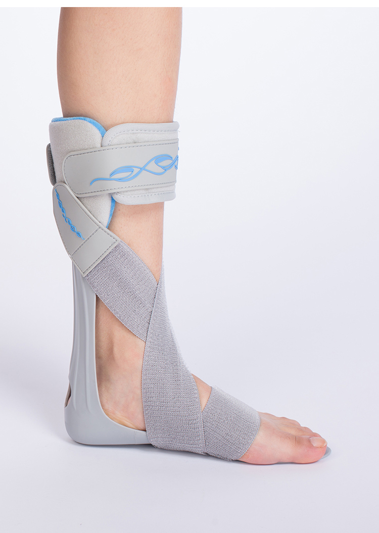 Medical Adjustable Drop Foot Support Orthosis for Foot and Ankle Injury