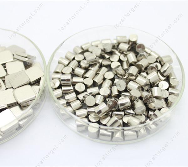 High purity 99.95% W granules tungsten metal pellets