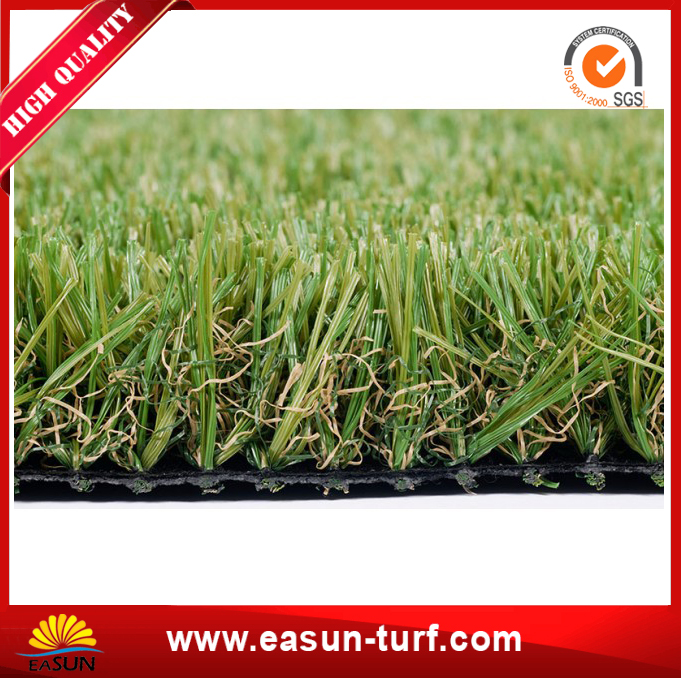 Popular soft PE artificial turf grass for garden and landscape-AL