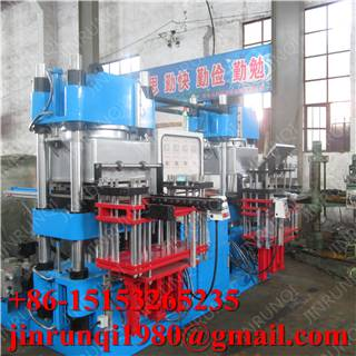 Vacuum vulcanizing press