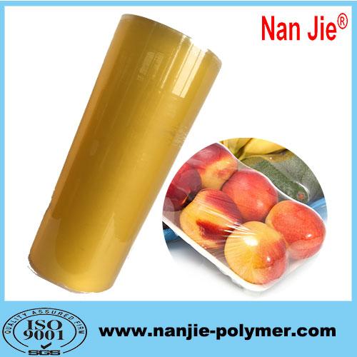 Nan Jie moisture proof pvc cling film big rolls for wholesale