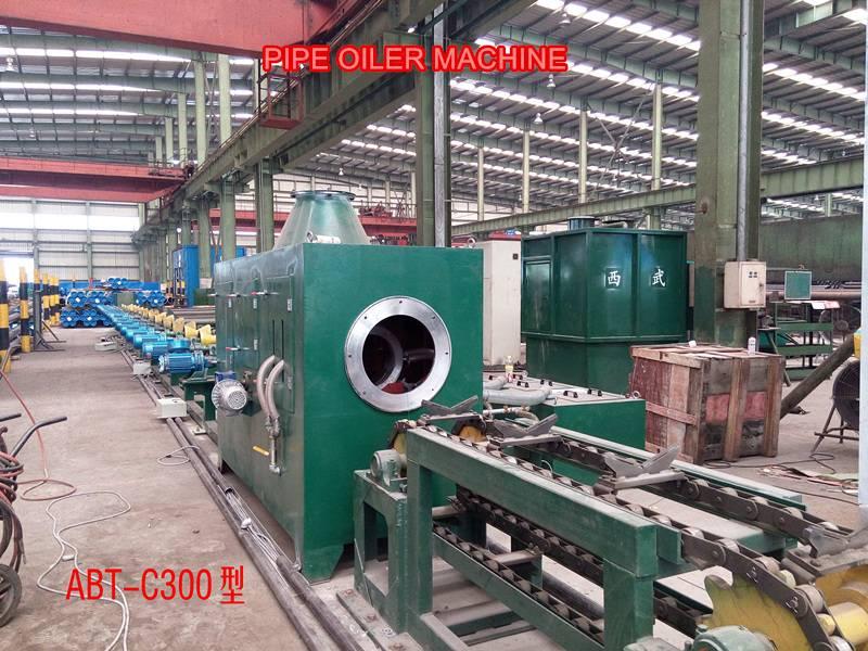 Pipe Oiler machine