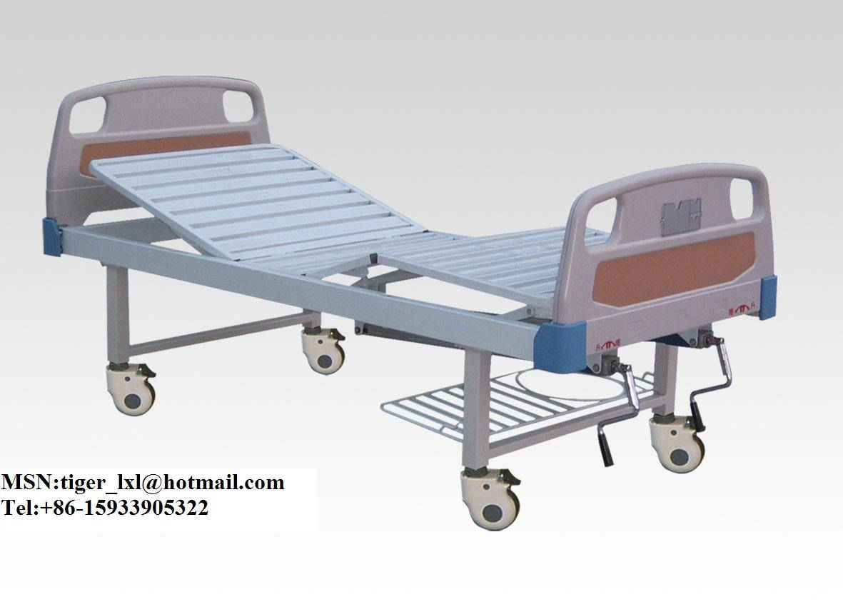 Movable double shakes medical bed A-51