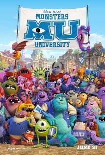 Monsters University  dvd movies