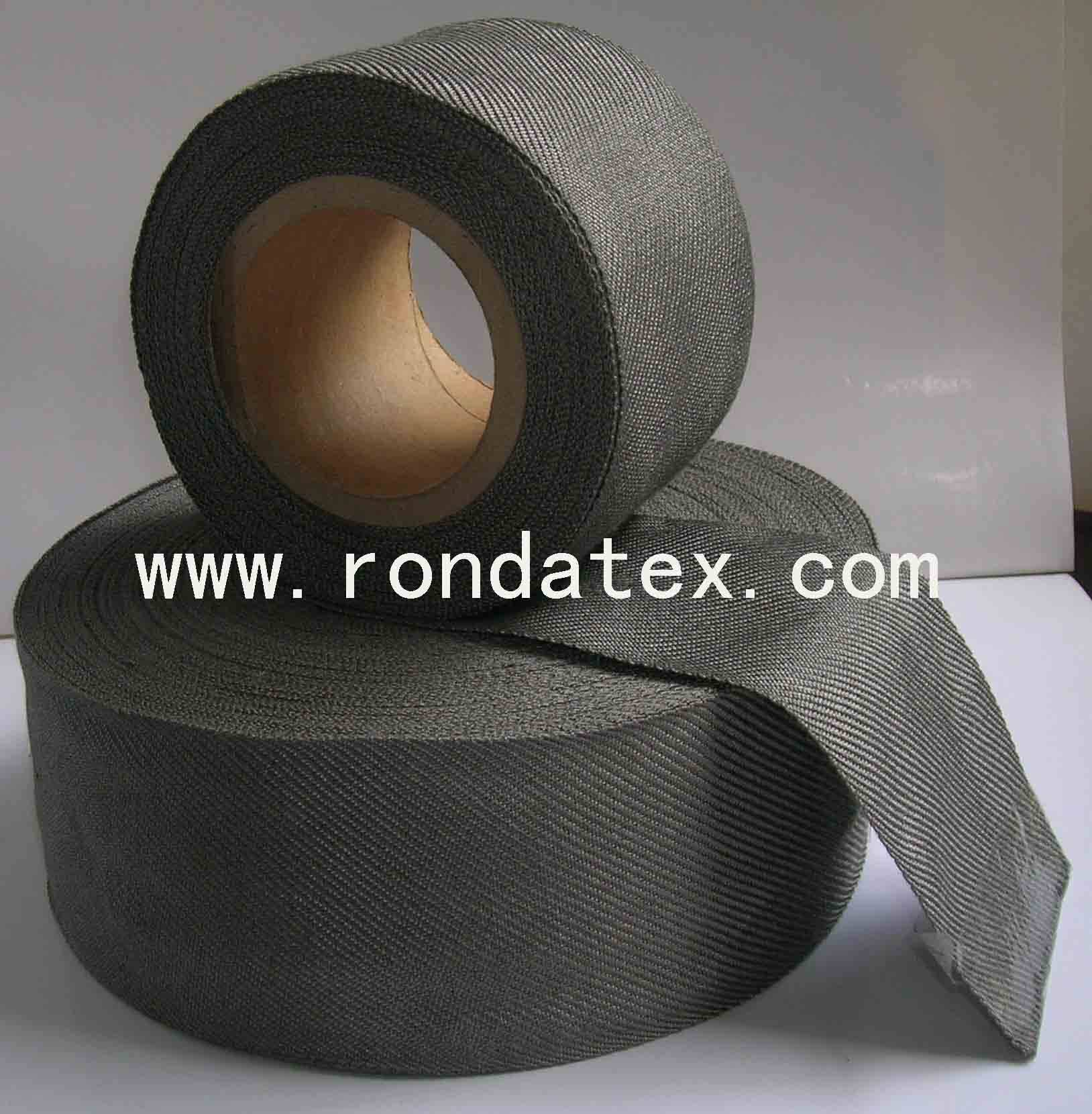 100% Stainless steel fiber conductive woven tape
