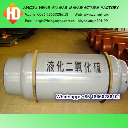 Sulfur Dioxide SO2 gas