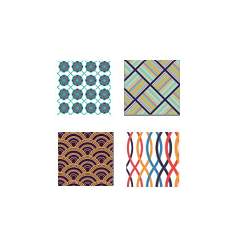 Korean Style Decorative Tile Stickers Set