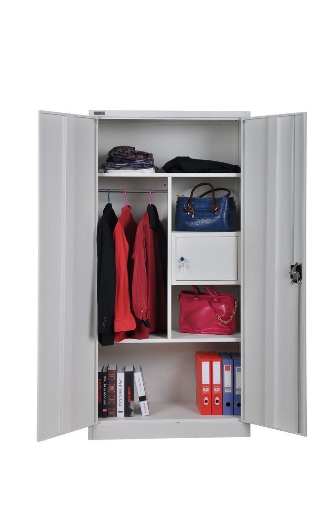 wholesale metal wardrobe double door storage locker