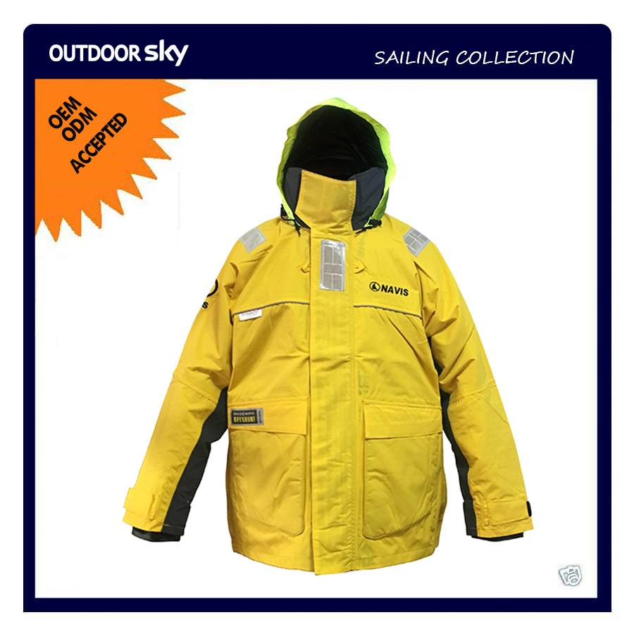 Windproof Breathable Inshore Coastal Sailing Rain Jacket #SH3562
