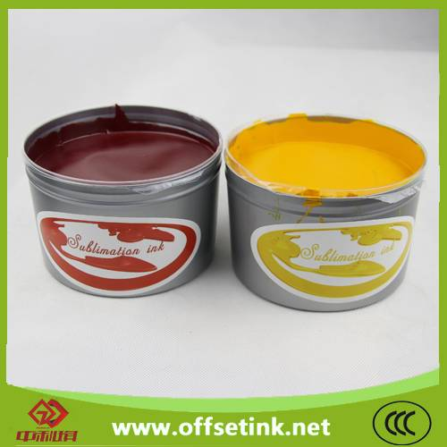 NEWEST sublimation heat transfer offset printing ink