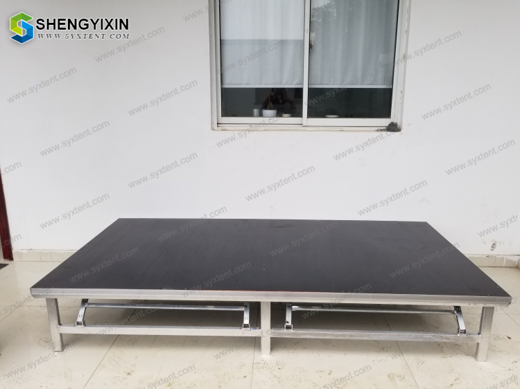 fashion show decoration stair portable removable lightweight stage platform