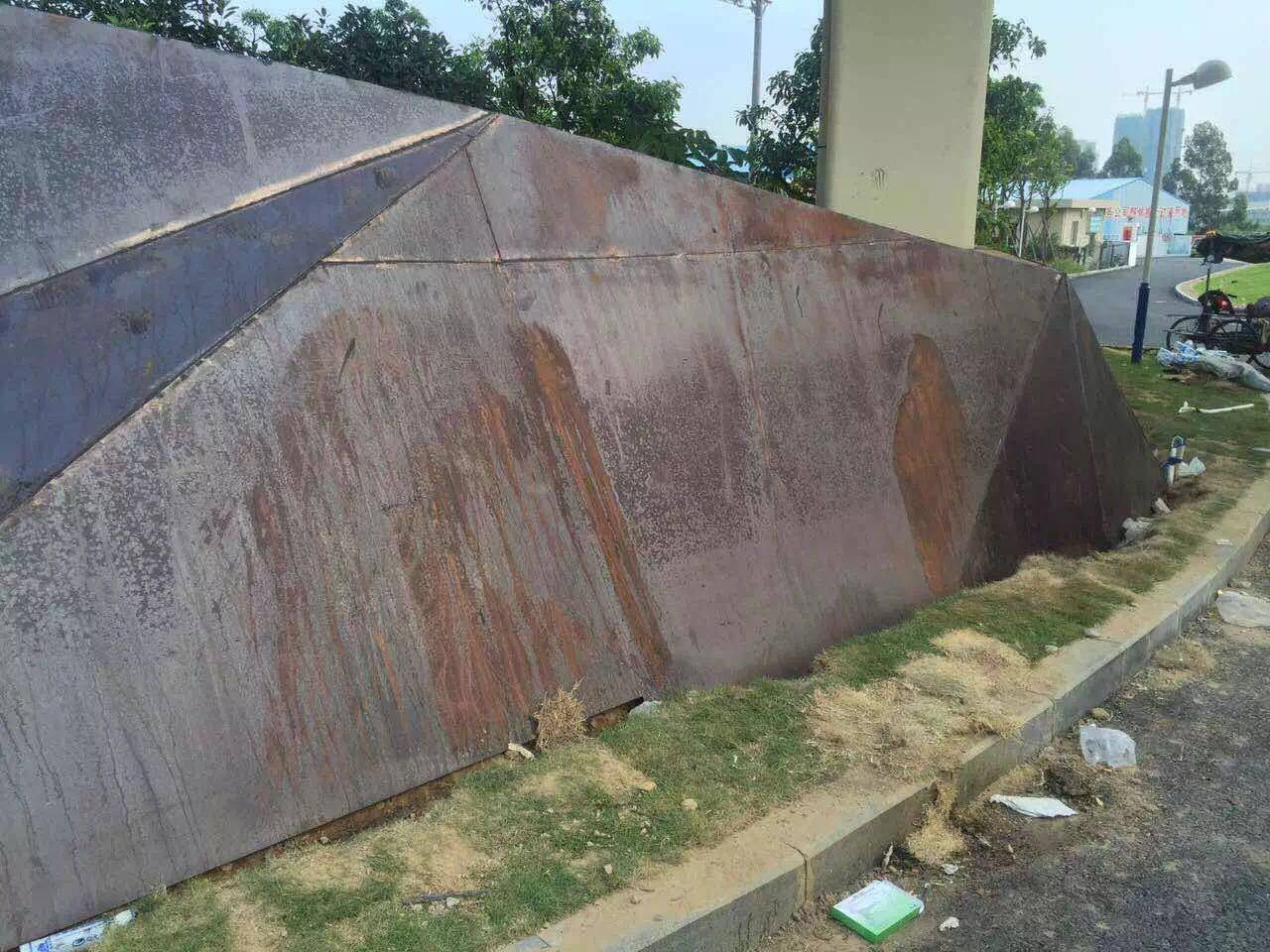 alunmium metal facade