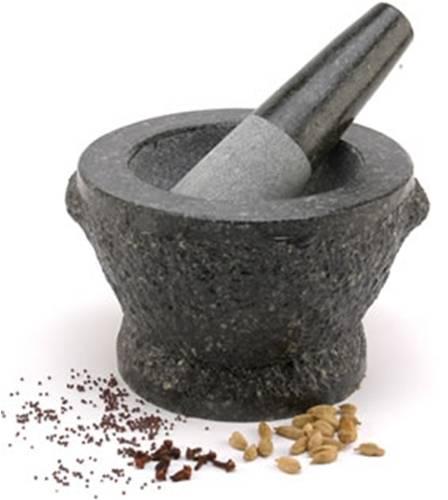 granite mortar & pestle