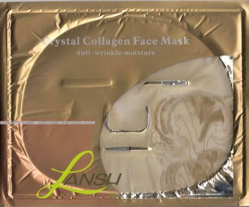 Crystal collagen facial mask