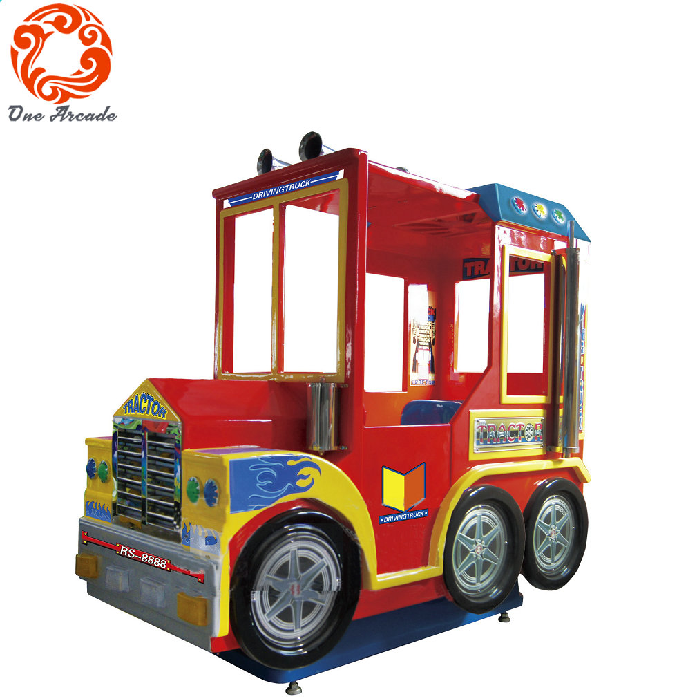 Coin Operated Kids Ride Driving Track Kids Game Machine