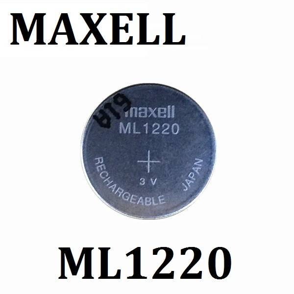 New Original Maxell ML1220 3V Rechargeable CMOS RTC BIOS Back Up Cell Button Battery Batteries