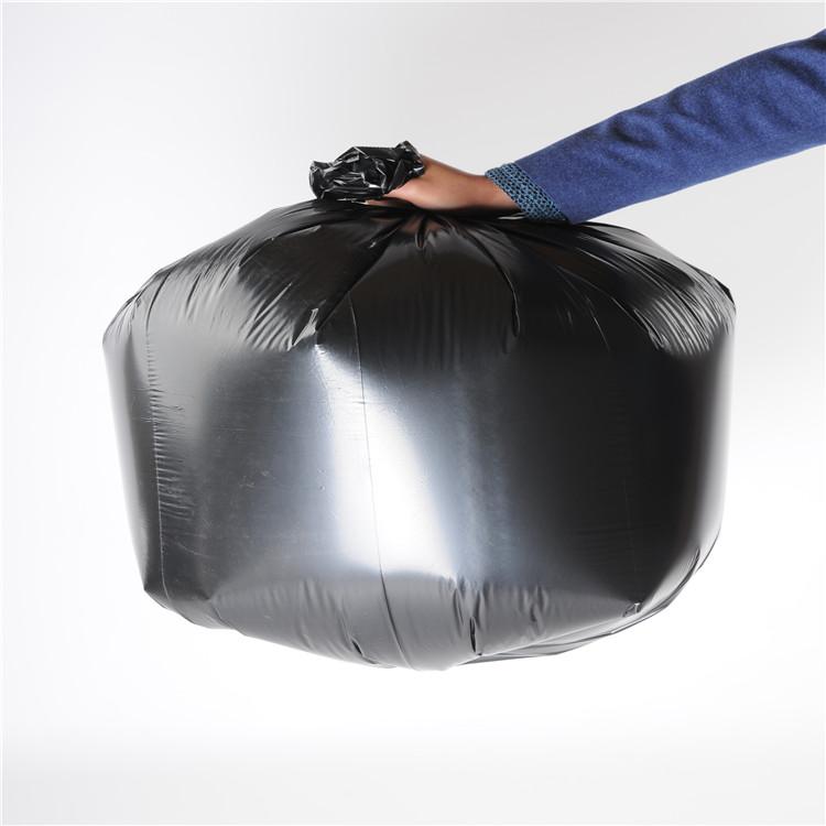 Big black trash bags bin liner rubbish bags