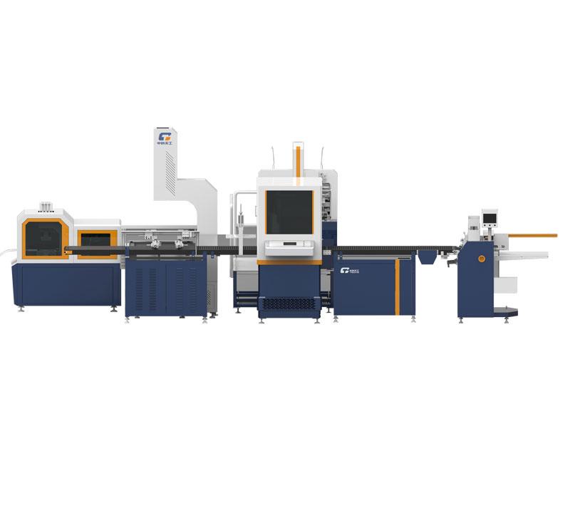 Modular rigid box making machine TG-3C25P