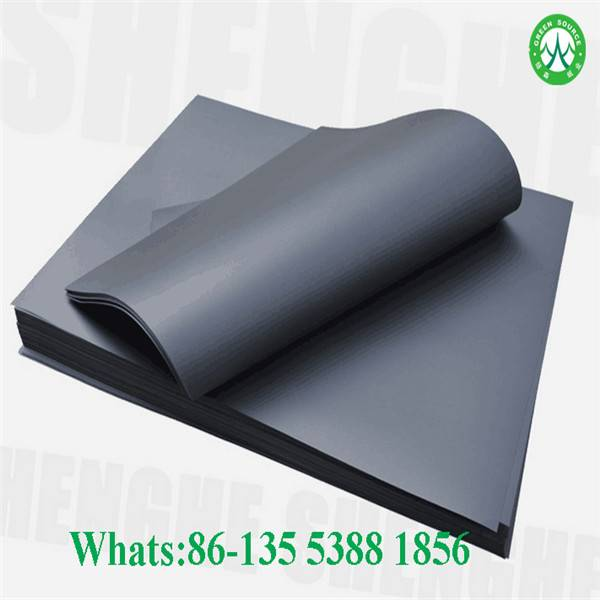 2016 black paper direct sale high quality china mill in dongguan
