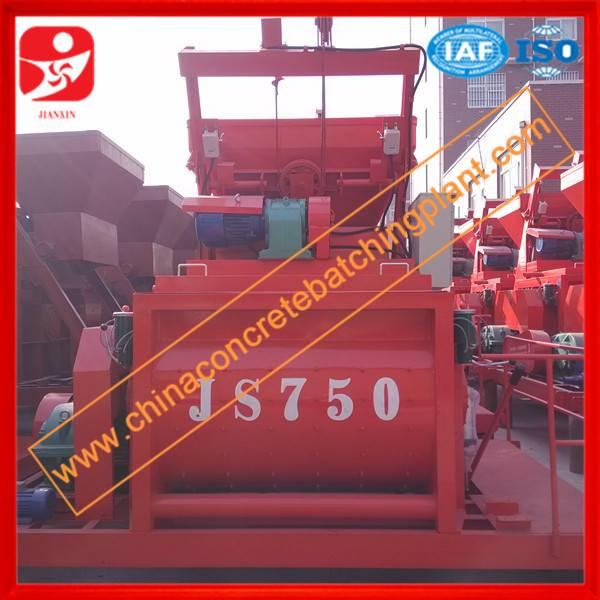 Top technical JS750 concrete mixer for sale