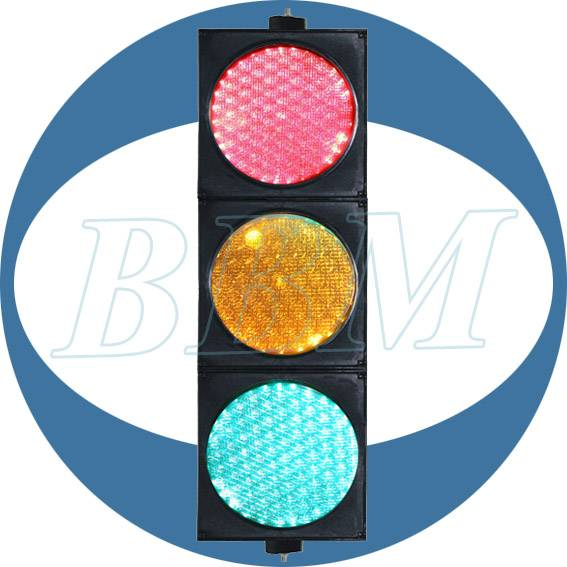 200mm RYG stop go traffic light with dual lens